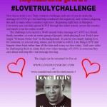 love truly challenge flyer